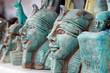 Leinwandbild Motiv sculptures of alabaster