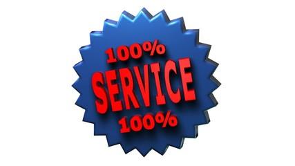 Service - Garantie - Dienstleistung