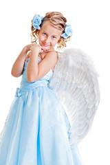 smiley beautiful angel