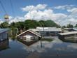 Leinwandbild Motiv Überschwemmungen Im Amazonasgebiet Manacapuru
