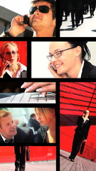 Vertical Business Montage