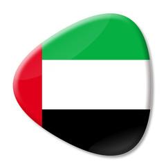 Vereinigte Arabische Emiratebutton dreieckig