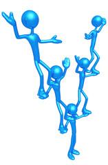 3D Character Team Balance