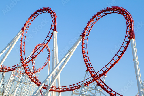 canvas print picture Roller Coaster