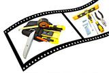 DIY Film Strip poster