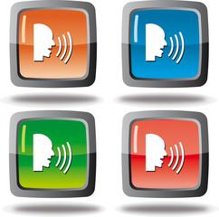 icone voix