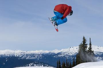 Snowboarder in Whistler