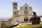 Assisi - Basilica superiore poster