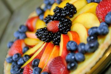 Fruit Tart Close-Up