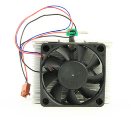 Cpu fan top view