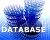 Database data storage poster