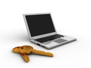 Laptop key