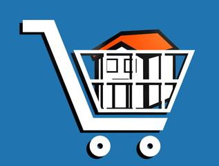 Hauskauf – Symbol