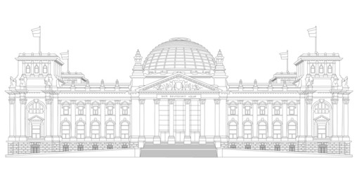 Reichstag outline