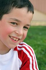 Sourire d'enfant - été - garçon #2
