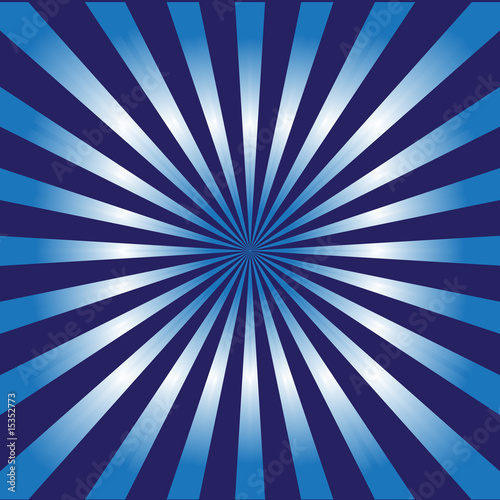 Sunburst style nightlife vector background