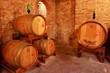 Weinkeller, Barrique, Rotwein, Toskana, Italien