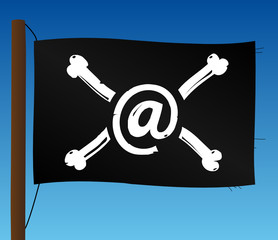 Drapeau Hacker Pirate