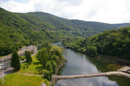 Edersee Staudamm - Staumauer
