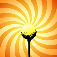 golf vector illustration