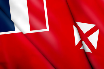 Flag of Wallis and Futuna (FRANCE)