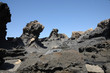 Volcanic rocks on Canary Island Fuerteventura, Spain - 15371794