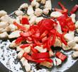 Fleisch mit paprika