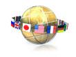 G8 globe