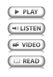 MEDIA Web Buttons (read video listen play watch player website) poster