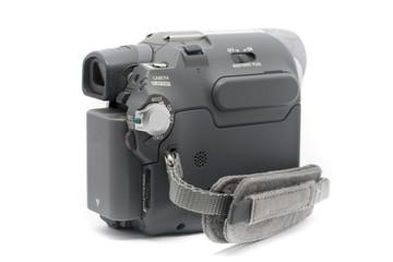 Camcorder Mini DV camcorder side