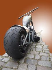 Chopper - Motorrad - Illustration
