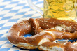 Pretzel and beer at Octoberfest / Brezn und Bier am Oktoberfest
