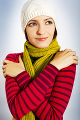 Beautiful Winter Woman