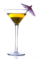 Yellow martini
