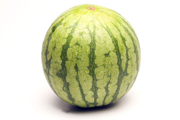 one personal size seedless watermelon