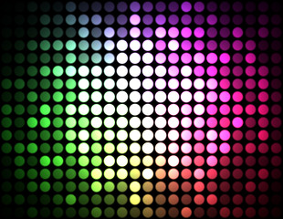 Party Discolights Colored