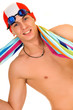 Athlete, swimmer towel