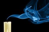 Fototapety Extinguished candle