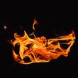Heat flame