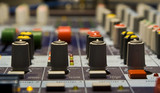 Sound producer mixer. Regulators poster
