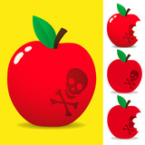Toxic apple poster