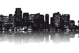 Fototapety New York Skyline abstrakt