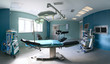 Operating room in a hospital - 15428591