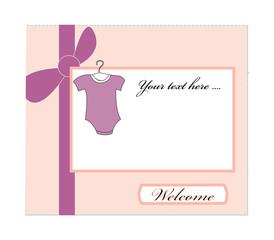 Baby girl arrival