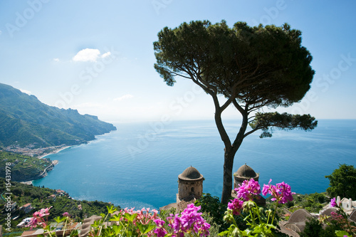 Amalfi coast view - 15431978