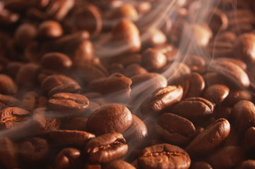 hot coffee for breakfast