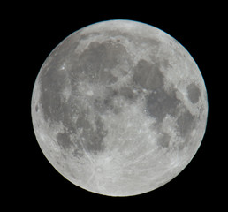 Extremely High Resolution Photo of Moon Lunar Surface
