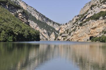 Cañón del río Ebro