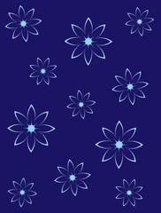 fondo con fiori
