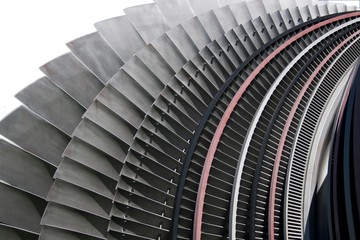 Kraftwerk Turbine